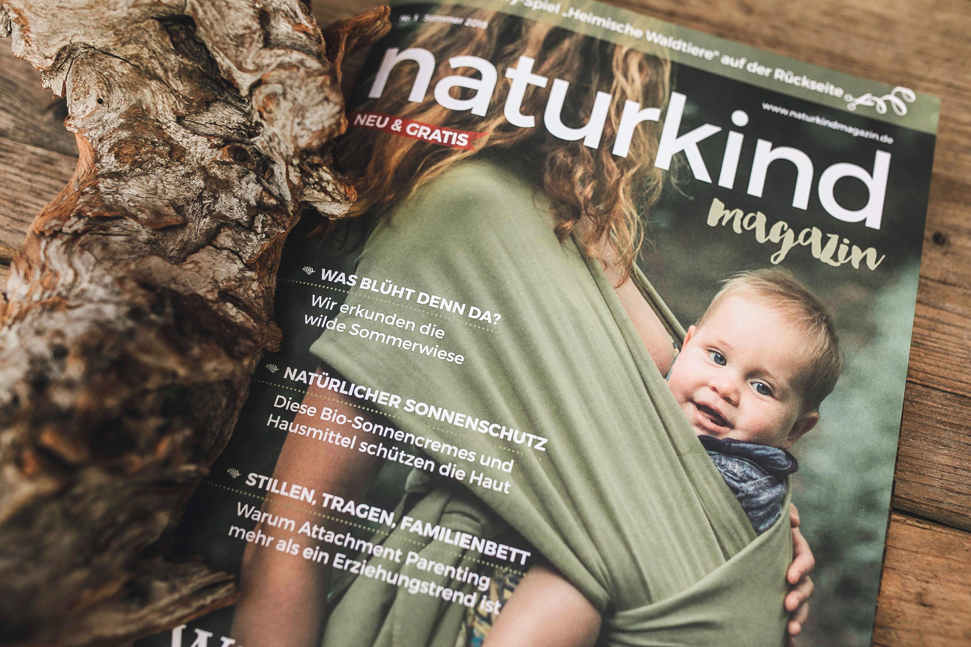 Naturkind Magazin Elternzeitschrift Familienmagazin gratis