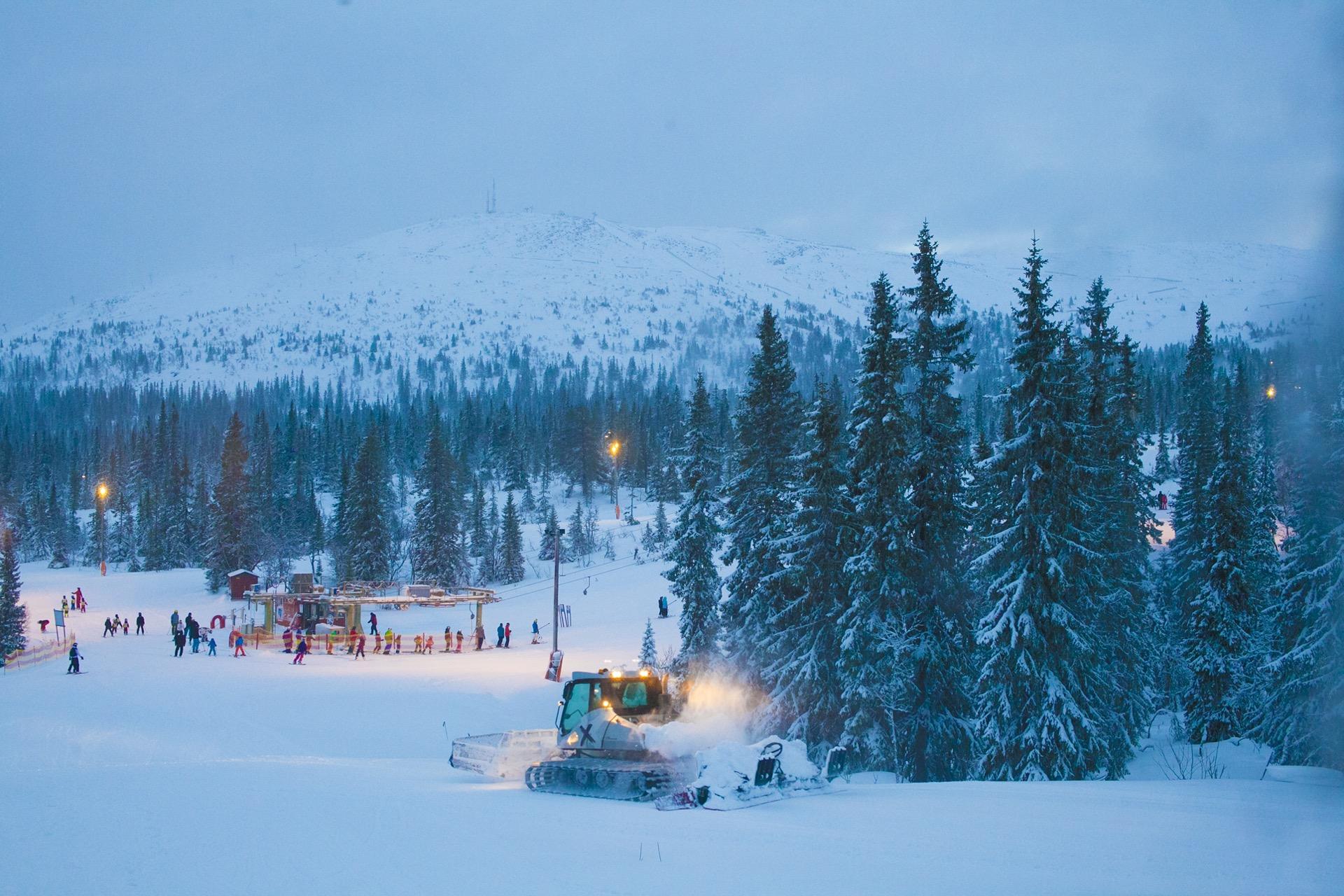 trysil Skiurlaub winter familie