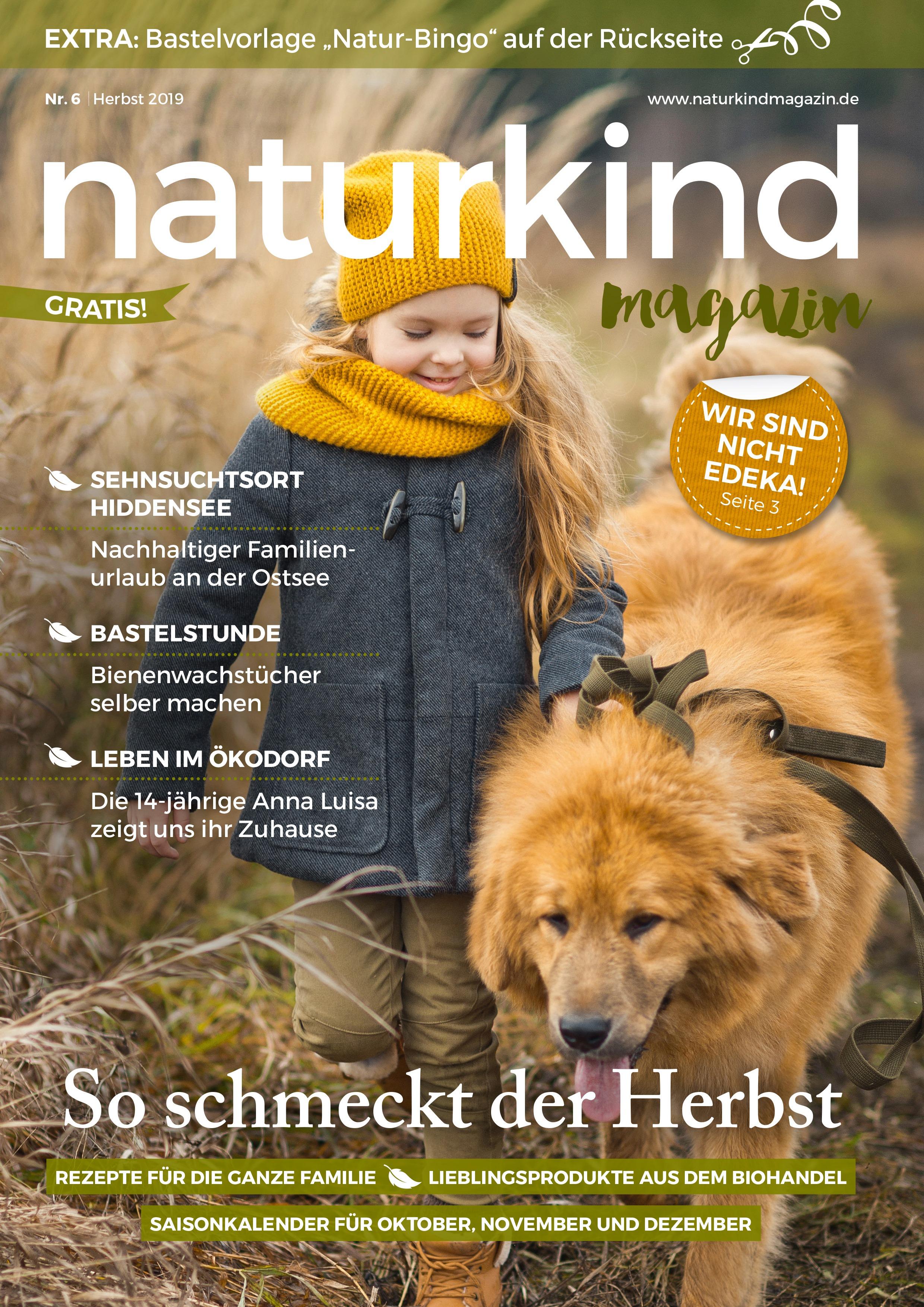 Naturkind Magazin Herbst 2019