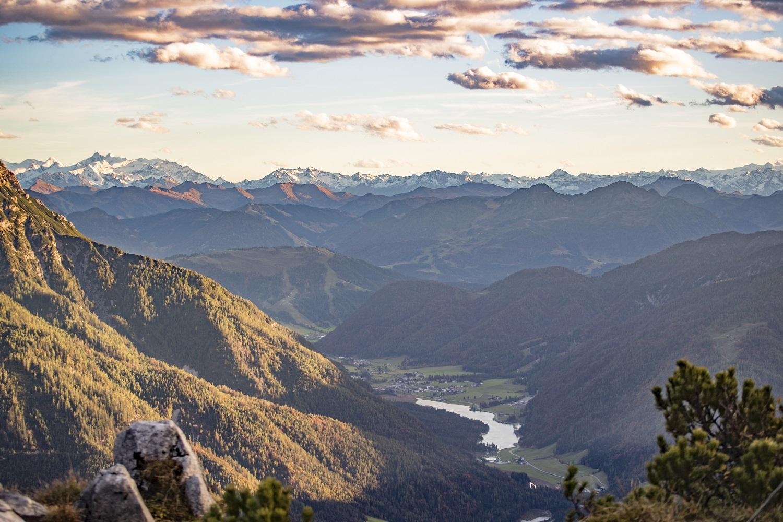 Ausblick von der Steinplatte Richtung Pillersee c Defrancesco