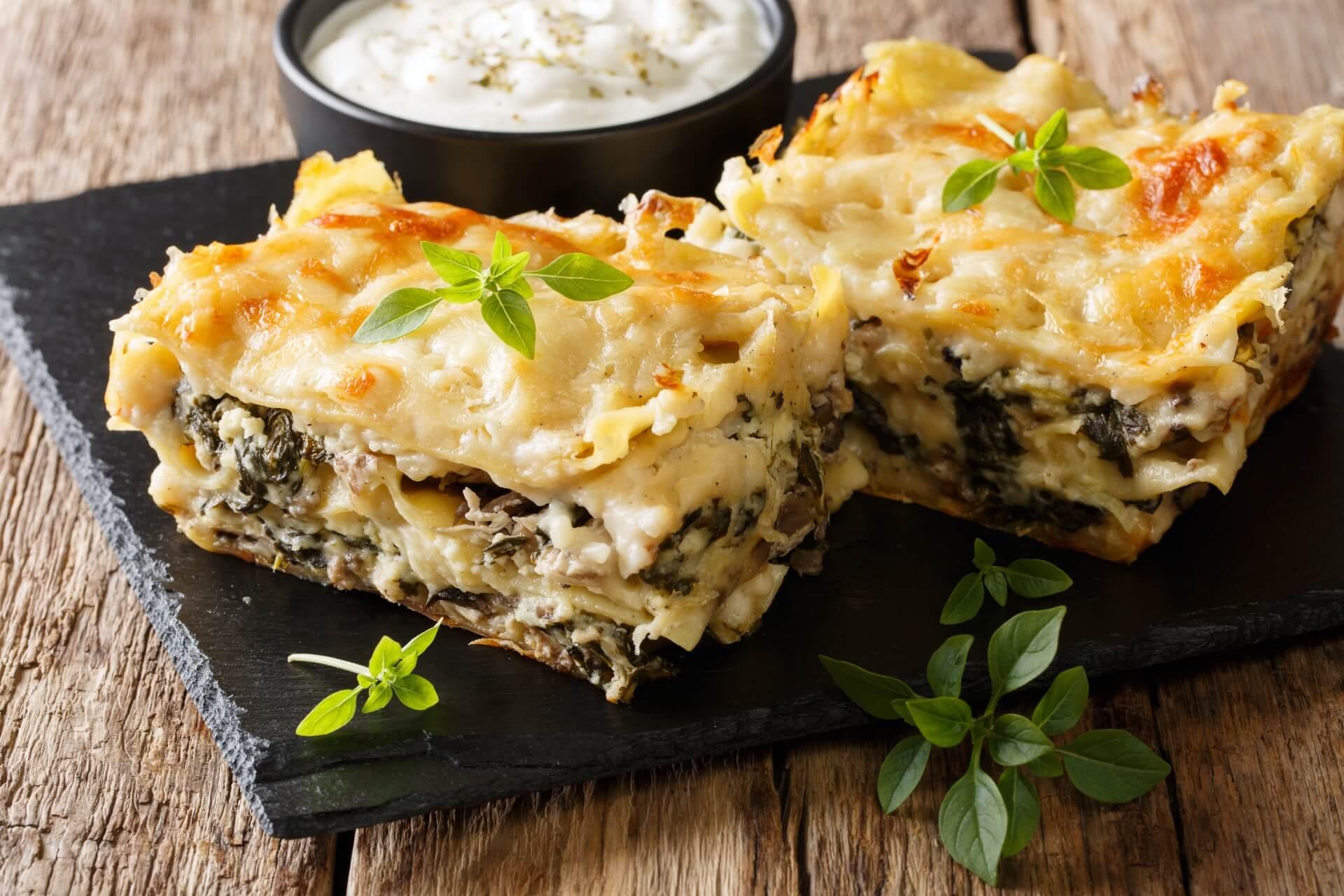 Hähnchen Lasagne