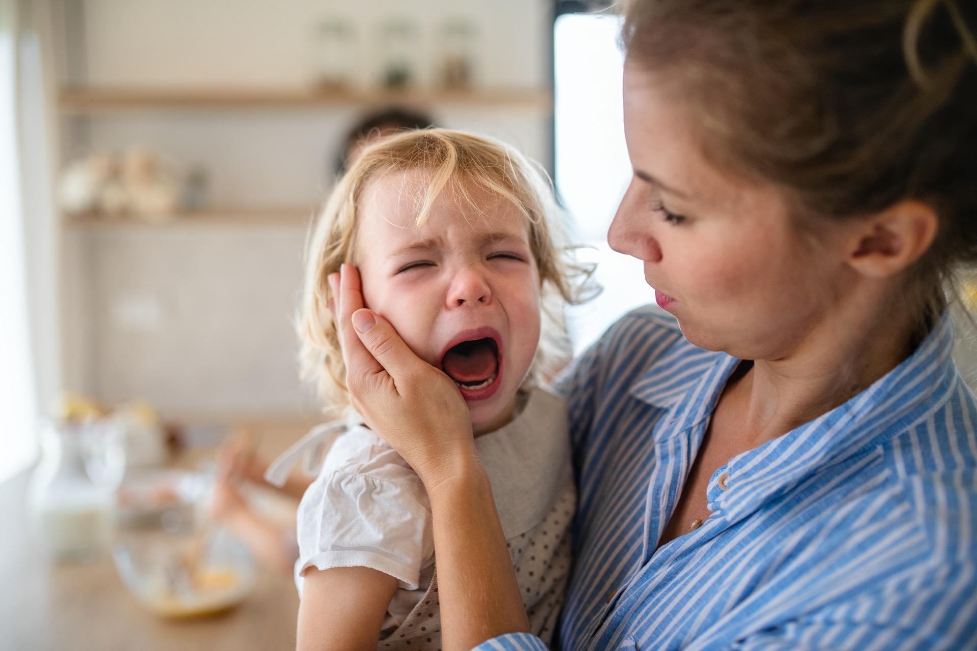 Kind schreien lassen