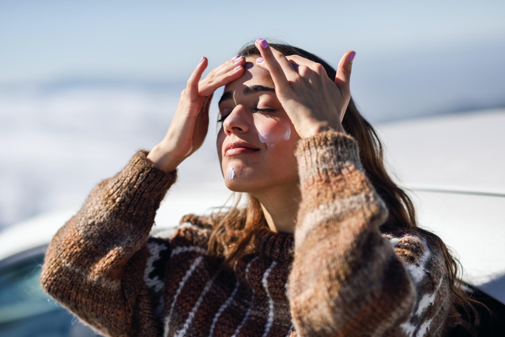 Hautpflege und Haarpflege im Winter