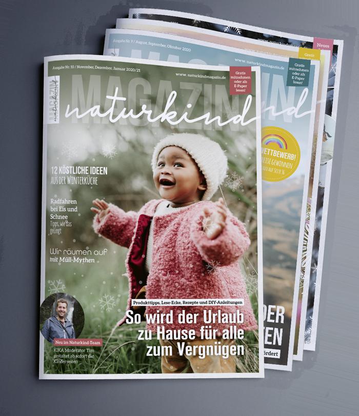 Elternmagazin Elternzeitschrift Familienmagazin Familienzeitschrift Naturkind