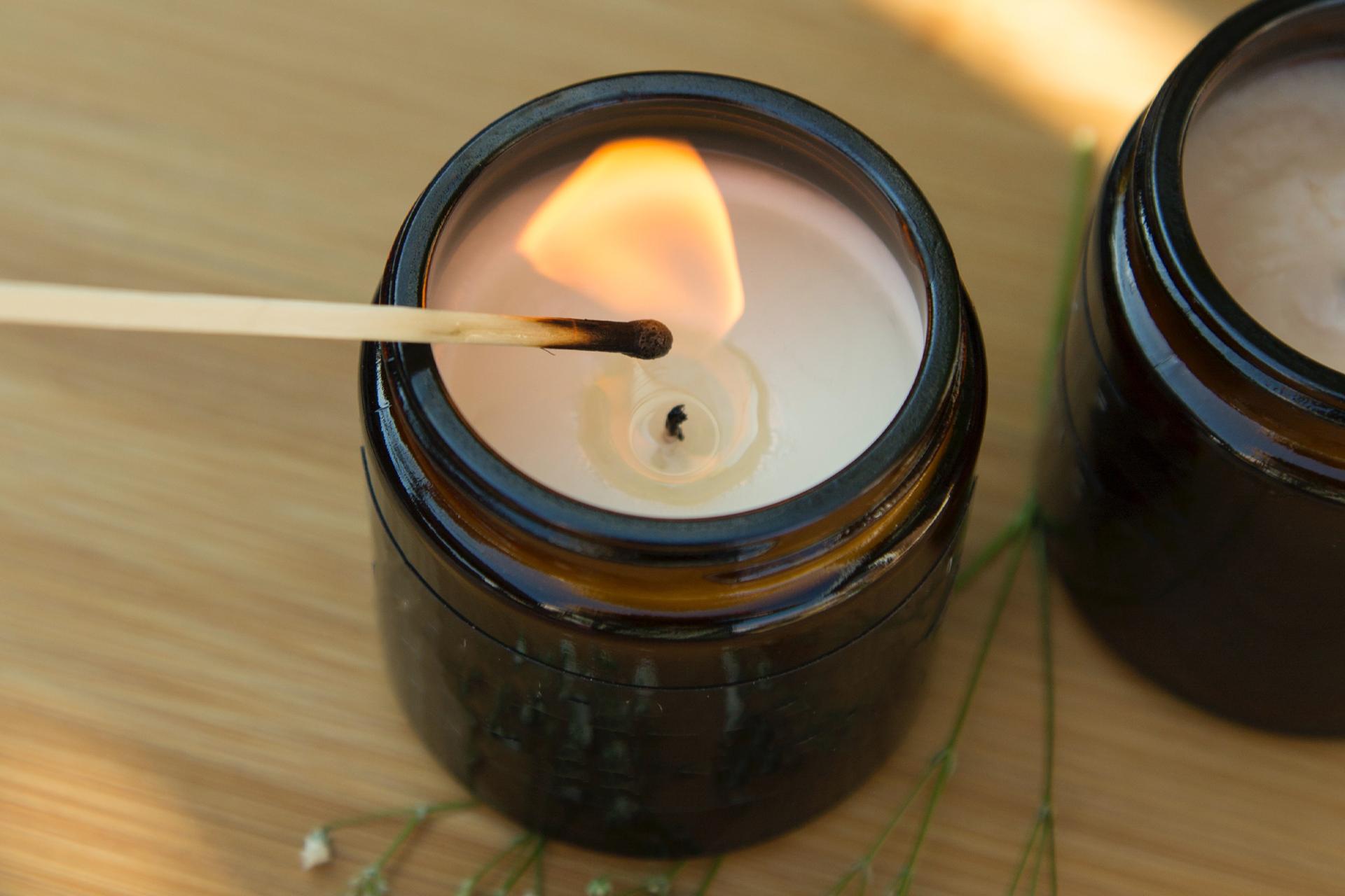 DIY Kerzen aus Kerzenresten