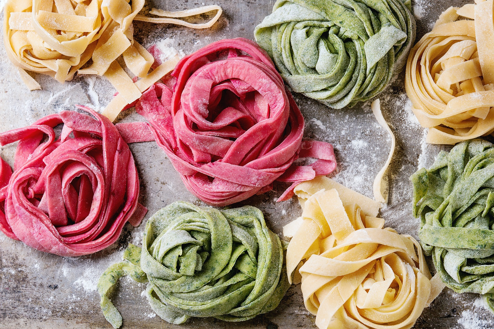 Pasta selbst machen Nudelteig Rezept Anleitung