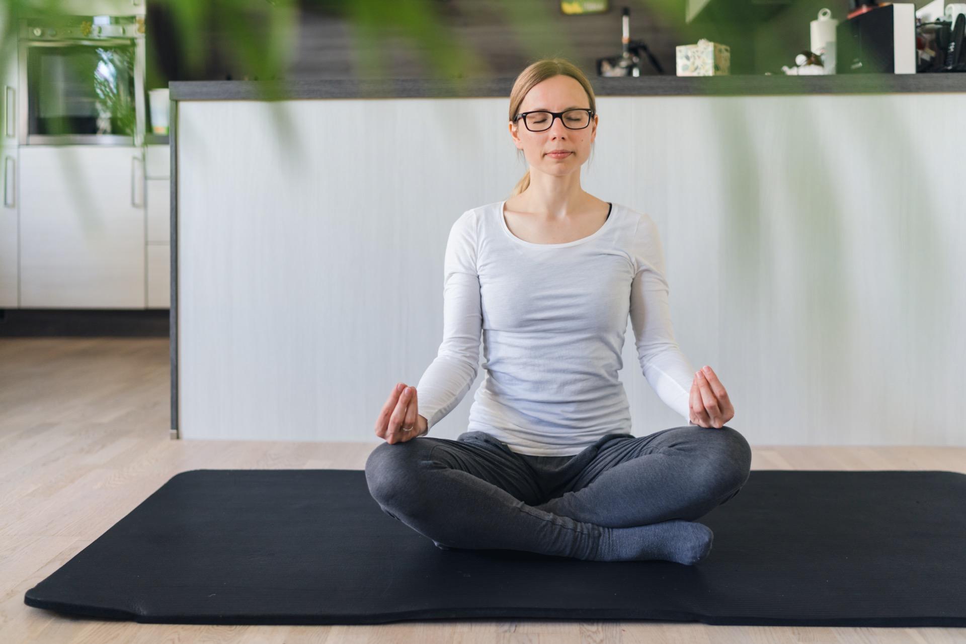 Meditation lernen zu Hause