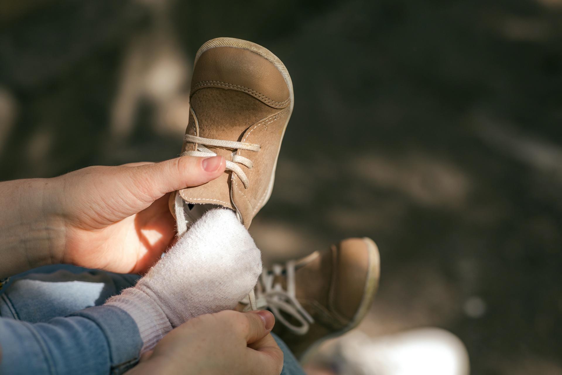 Babys erste Schuhe