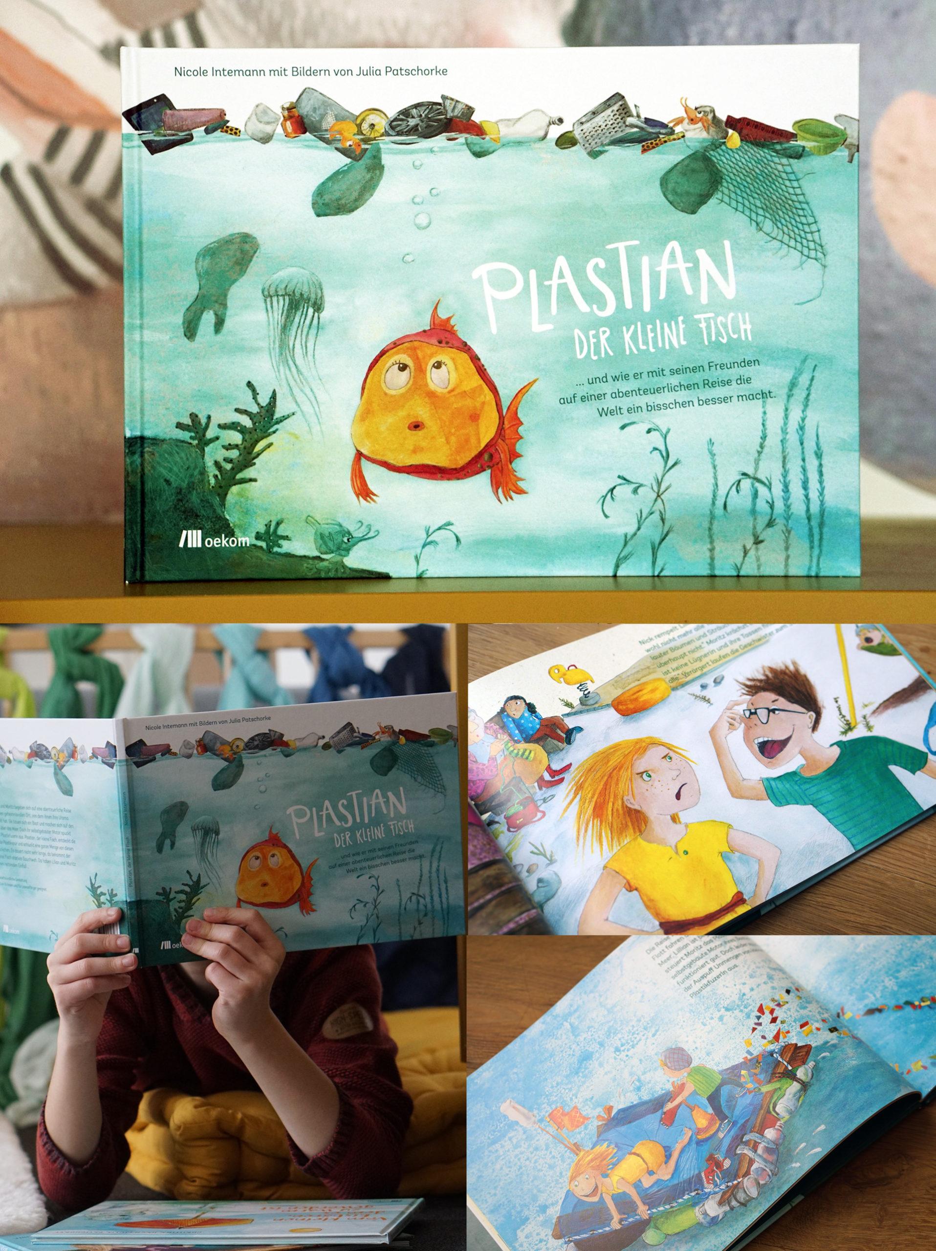 Kinderbuch Plastian der kleine Fisch oekom Verlag