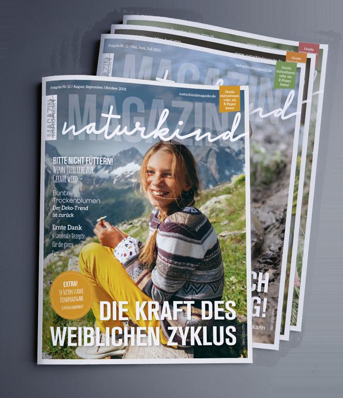 Naturkind Magazin Elternzeitschrift Familienmagazinv öko Familie
